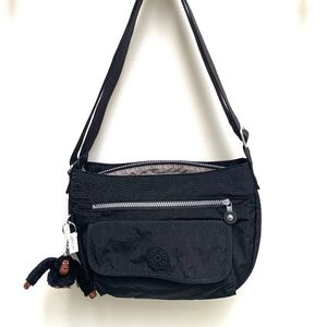 NWT Kipling Syro Crossbody Bag Black HB7478 Purse